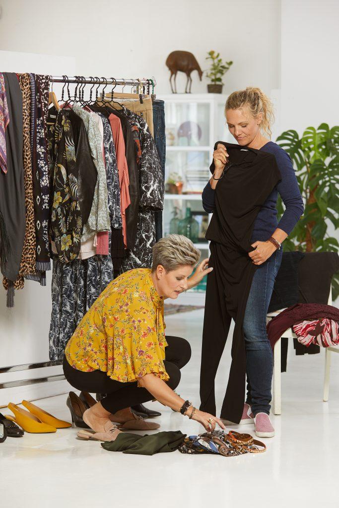 ved et garderobetjek kigger vi på din tøjstil og finder nye tøj kombinationer
