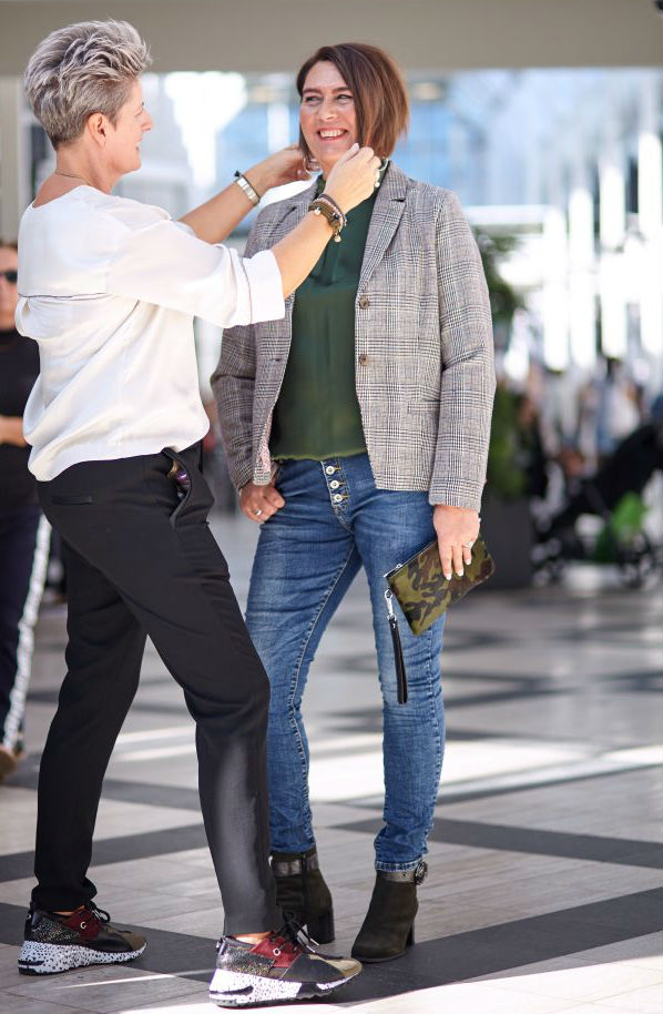 Helle Bille stylist for forskellige modebutikker